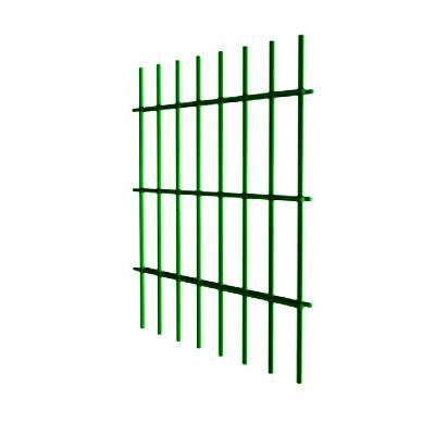 Секционные заборы из металлического сварного прута