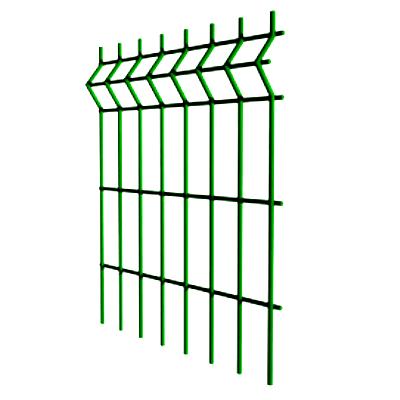Сварная сетка 3D для забора