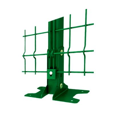 Столбы Оцинкованные для ограждений 2D и 3D