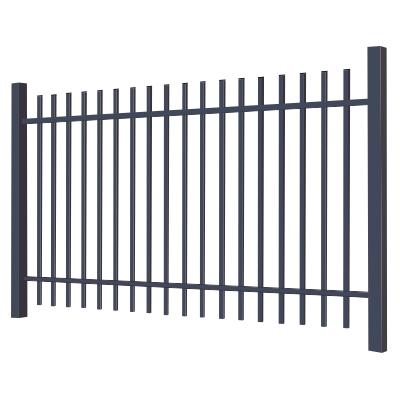 Металлический сварной забор «Дзен» из профильной трубы (металлопрофиля)