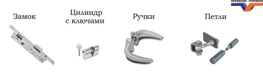 Комплектация калиток