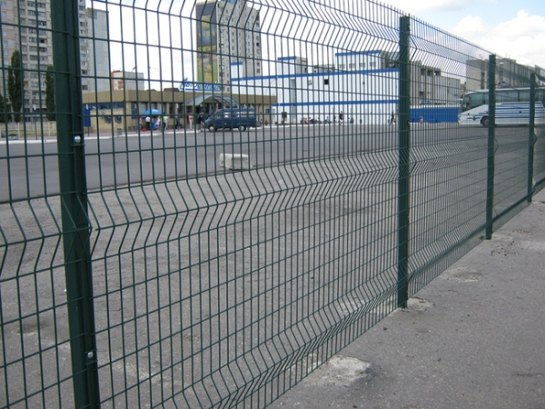 Забор из сетки 1,53м/ПВХ/3D