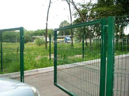 Цена на распашные ворота из сетки
