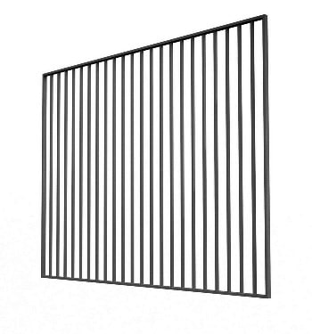 Сварной забор «Дзен» Размеры: 2500мм*2000мм