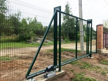 Откатные ворота автоматические