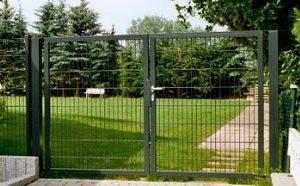 Ворота откатные и ворота из металлической сетки