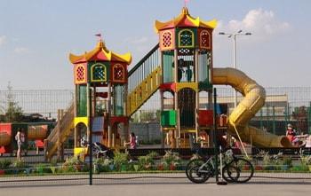 Забор для игровой площадки