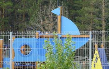 Забор для детской площадки