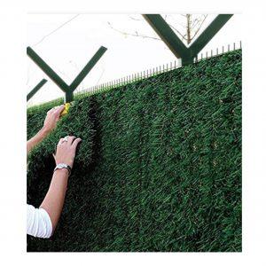 Установка і монтаж зеленого паркану Green mix