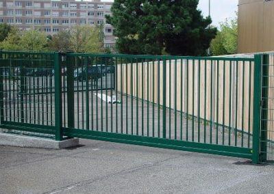 Откатные (сдвижные) ворота автоматические ворота заказать Днепропетровск Украина