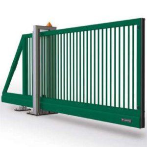 Ворота откатные 3,5х1,48 м/ППЛ