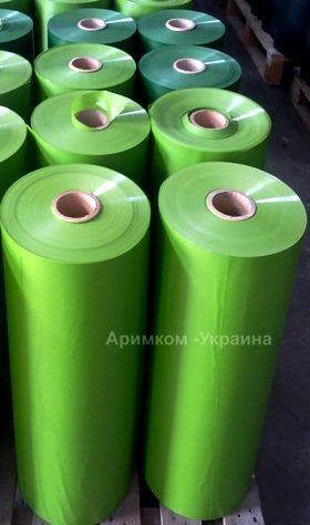 ПВХ плёнка для изготовления зелёного забора