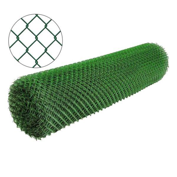 Сетка рабица с полимерным покрытием 25х25мм/1,5/2,50мм 1,2м/10м