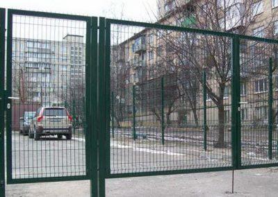 Ворота для стоянки