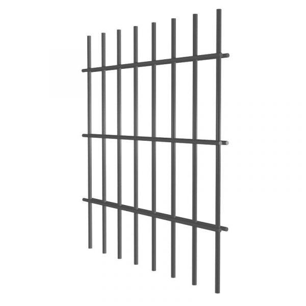 Cетка для забора 0,45м/Zn/2D/200х50/4,9х3,9х4,9