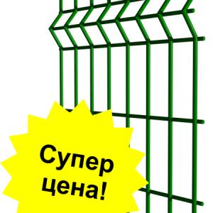 setka zabor min 300x300 - Секционный забор 1,23м/ППЛ/3D/3х4