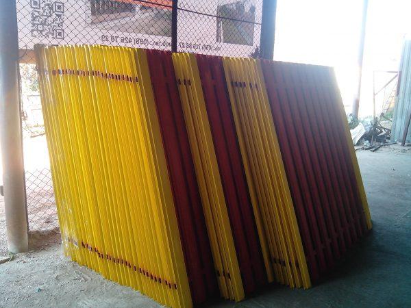 sklad shtaketnogo profilja 600x450 - Штакетный забор 2.5*1.5м/0,45мм/DUOS