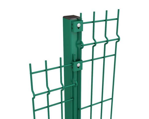 stolby 5 600x478 - Столб H - 1.3м/ППЛ/56х36х1.5мм/анкер без отверстий, под хомут