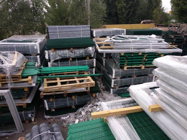 upakovka vorot 600x450 - Ворота откатные 3,5х2,43м/ППЛ