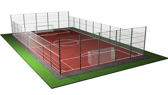 цены ограждений спортивных площадок
