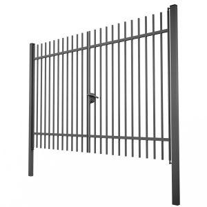 """Ворота распашные """"Дзен стандарт"""" 3х1.5 сварные из металлопрофиля"""