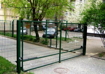 Ворота из сетки