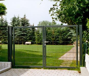 Ворота распашные 2,5х1,53 м/ППЛ