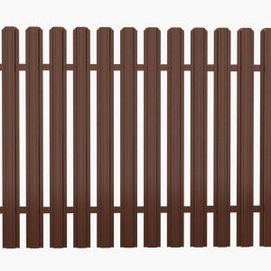 Штакетный забор 2.5*1.25м/0,45мм