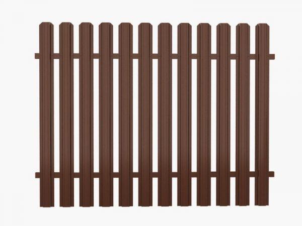 zabor 600x450 - Штакетный забор 2.5*1.8м/0,45мм