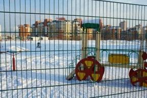 Сетка для ограждения детских площадок