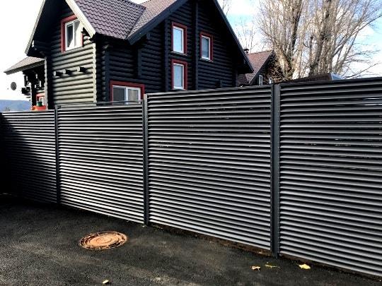 Забор жалюзи купить в Одессе