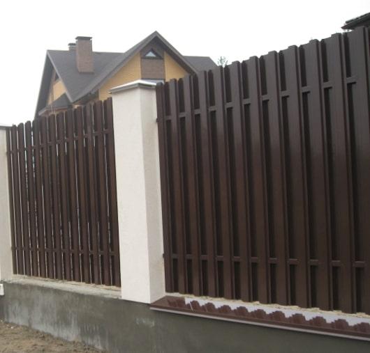 Штакетный забор в Киеве