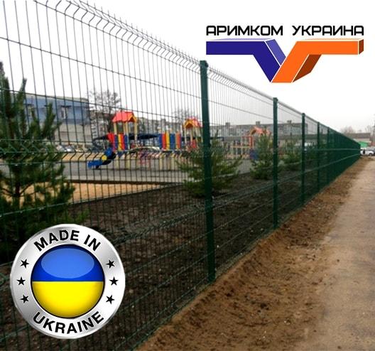 забор из сетки в Бахмуте, Славянске, Краматорске
