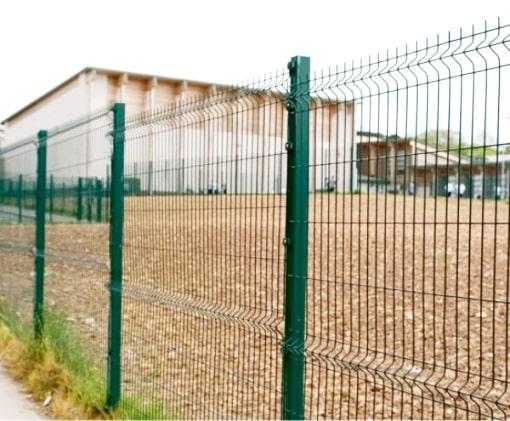 Забор из сетки в Мариуполе