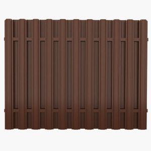 Штакетный забор 2.5*1.25м/0,45мм/DUOS