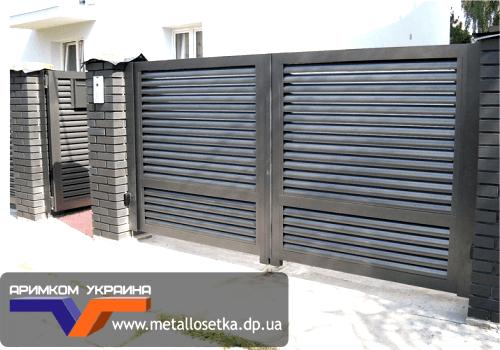 Забор жалюзи во Львове