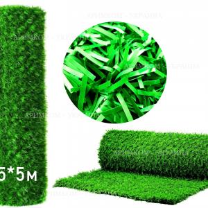 Забір Green mix зелена трава H -0,5х5
