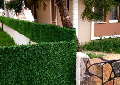 зелёный забор green-mix