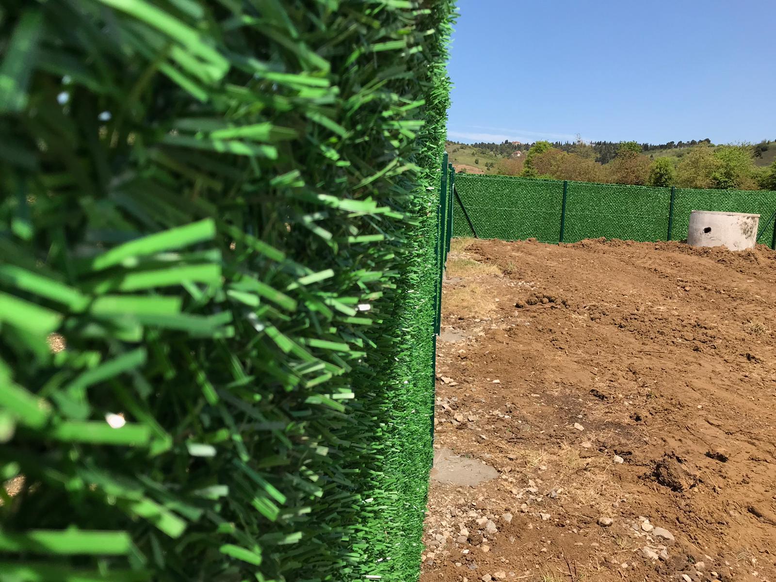Зелёный забор в Белой Церкви