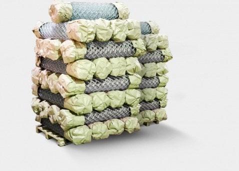 Упаковка сетки рабицы